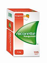 Nicorette Kaugummi Freshfruit 4mg