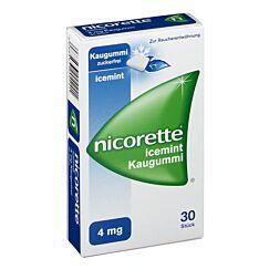 Nicorette Kaugummi Icemint 4mg