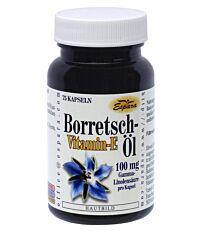 Espara Borretschöl + Vitamin E Kapseln 75 Stück