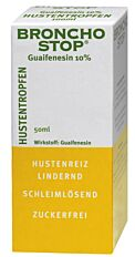 Bronchostop Guaifenesin Hustentropfen 10%
