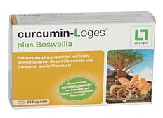 Curcumin - Loges plus Boswellia Kps 60 Stk.