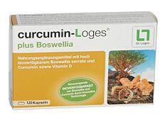 Curcumin- Loges plus Boswellia Kps 120 Stk.