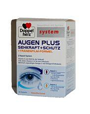 Doppelherz Augen Plus Sehkraft+ Schutz+ Tränenformel 60 Kapseln