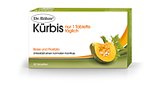 Dr. Böhm Kürbis - nur 1 Tablette täglich