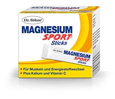 Dr. Böhm Magnesium Sport Sticks 40 Stück