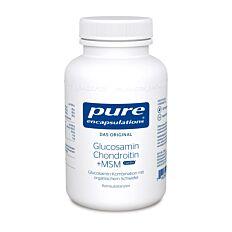 Pure Encapsulations Glucosamin + Chondroitin + MSM 120 Kapseln