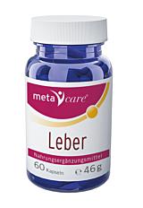 metacare® Leber Kapseln 60 Stück