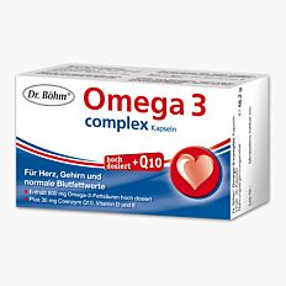 Dr. Böhm Omega-3-Complex Kapseln 60 Stück