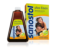 Sanostol Multivitamin +Eisen 460 ml