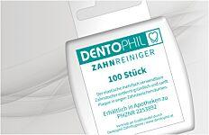 Dentophil Zahnreiniger 100 Stk.