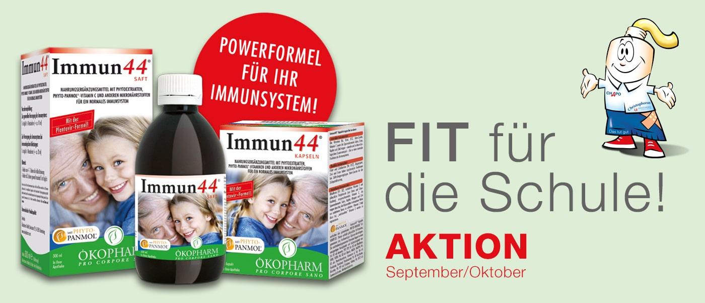Immun44 - Fit für die Schule